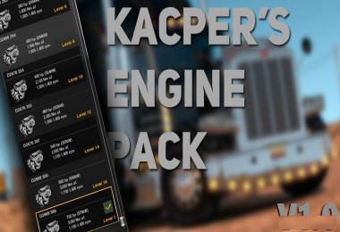 Kacper's Engine Pack v1.0 – ATS Edition