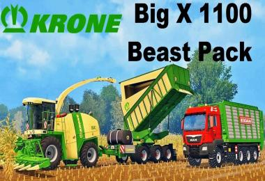 Krone Big X 1100 Pack by Hrobnik