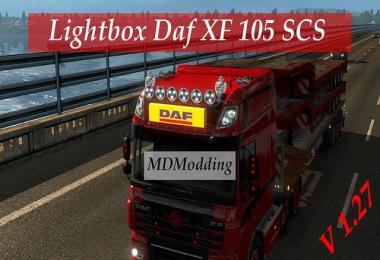 Lightbox Daf XF 105 1.27