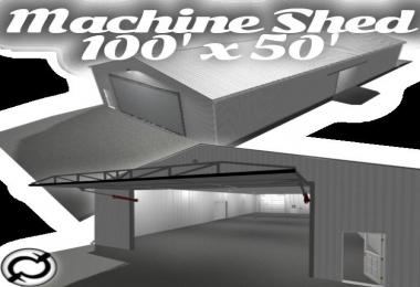 Machine Shed - 100x50 (functional) v1.0