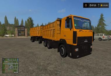 Maz 6501 + Trailer v1.0