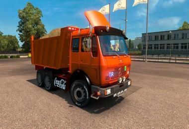 Mercedes Benz NG 1632 dump truck