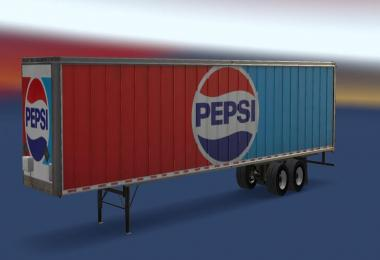 Pepsi Standalone 53' Trailer v1.1 for ATS v1.6.1.8s