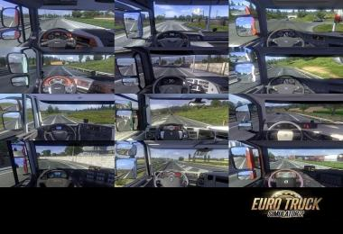 Real Interior Cams ETS2 v2.3.6
