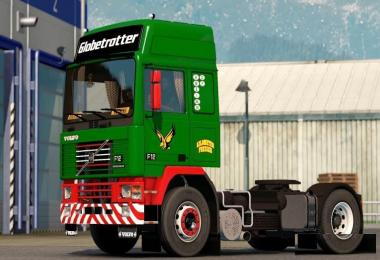 Red Green Paint Job for Volvo F-Series