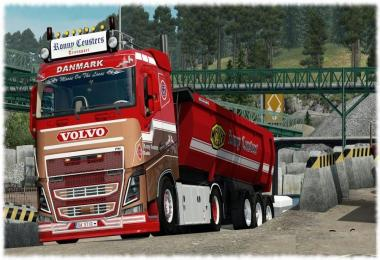 Ronny Ceusters Skin for Volvo FH16 2013 Ohaha (by DaStig)
