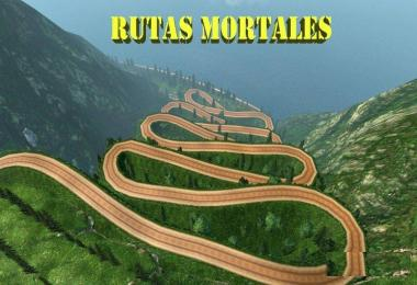Rutas Mortales v1.6 – Dangerous Roads Map