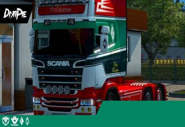 Skin for Scania by RJL v2.2