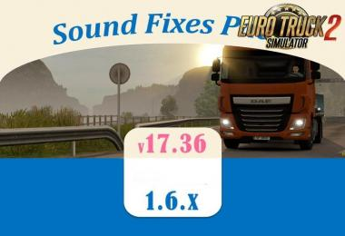 Sound Fixes Pack v 17.36.1 for ATS (1.6)