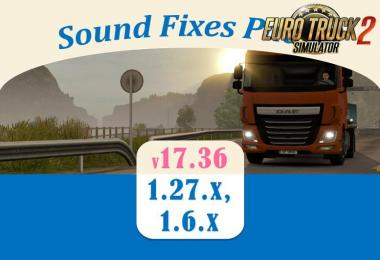 Sound Fixes Pack v 17.36.1 for ETS