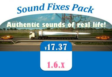 Sound Fixes Pack v17.37 for ATS