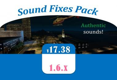 Sound Fixes Pack v17.38 for ATS