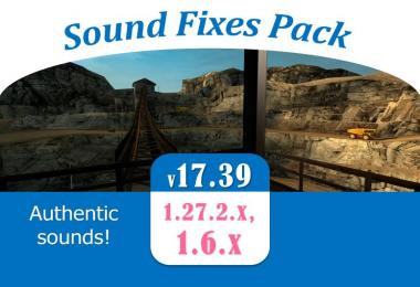 Sound Fixes Pack v17.39