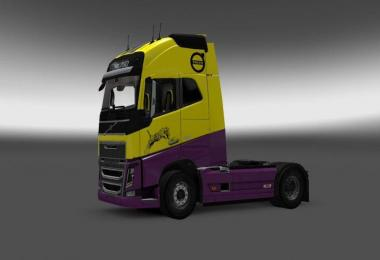 Tiger Skin for Volvo FH 2012