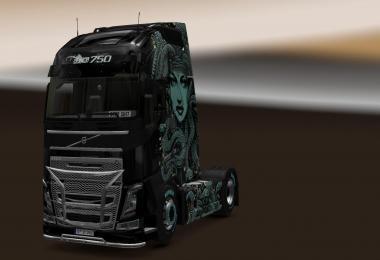 Volvo FH16 2012 Medusa Skin v1.27.2.3