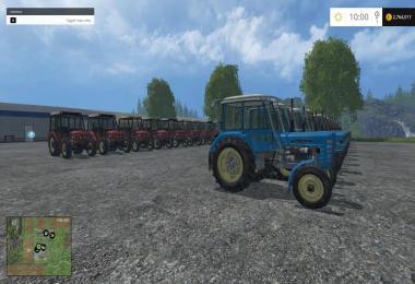 Zetor pack (Tractors + tools) v1.0