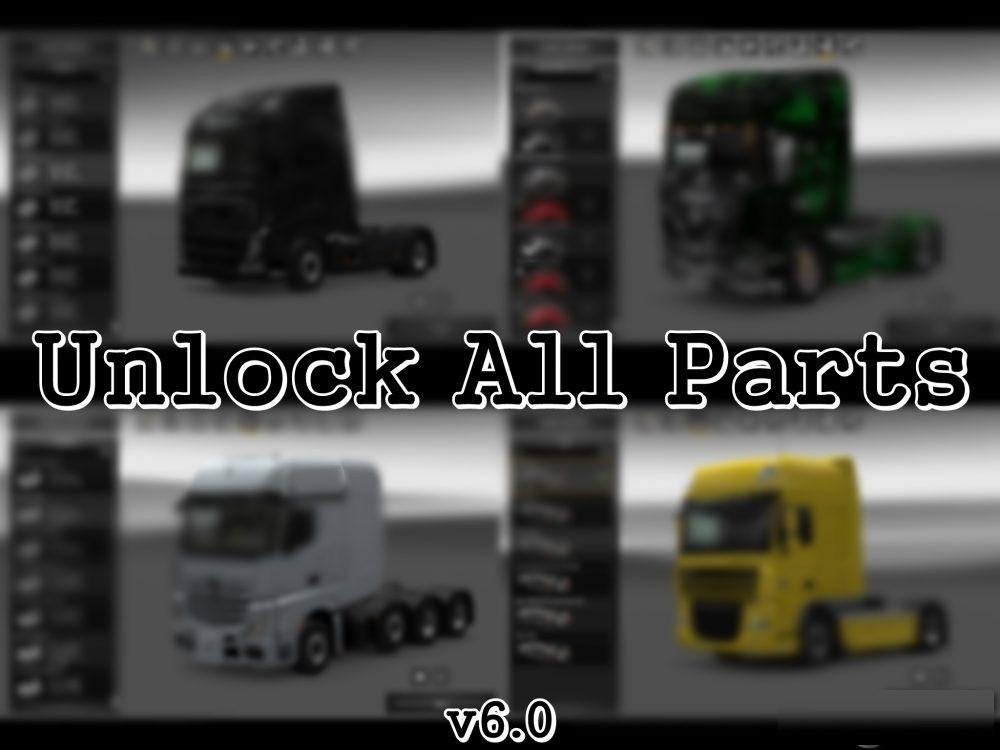 Unlock All Parts v 6.0 by YiğitE (1.27.x)