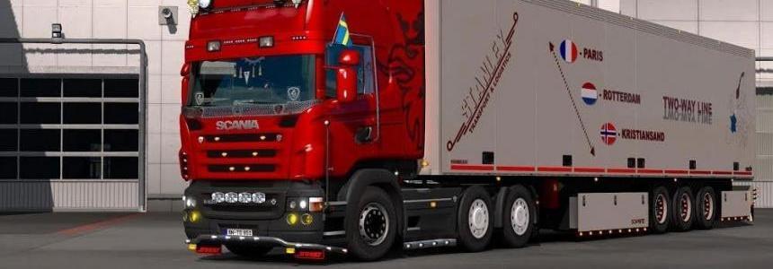 Scania R & Streamline RJL + Susak Skin + Trailer