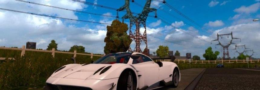 Pagani Huayra Reworked by AModding v1.0