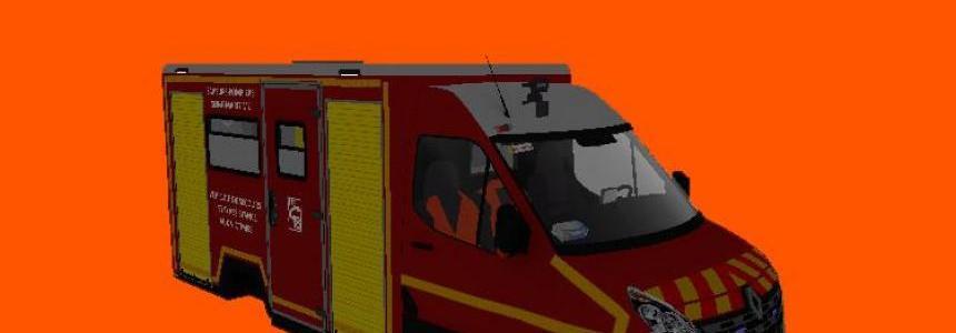 3D Ambulance pompiers