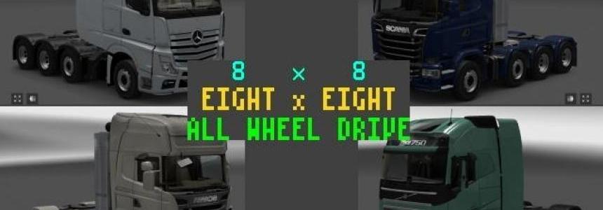 8x8 All Wheel Drive 1.27.x