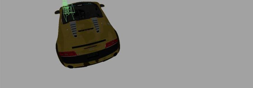 Audi R8 Desert Camo Mod v1.0