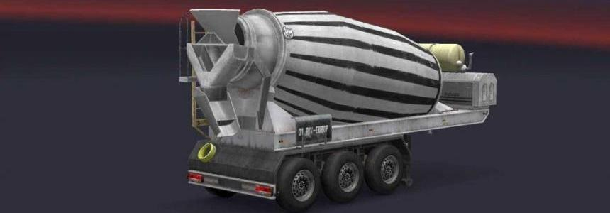 Cement Mixer Active In ETS2