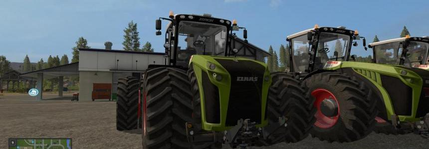 Claas Xerion 5000 Pack v2.0