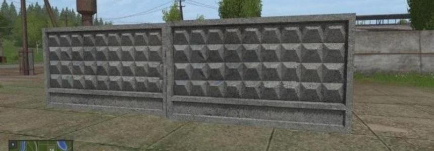 Concrete Fence beta