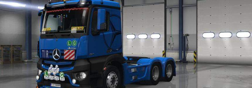 D3S Mercedes Antos 12 Special Edition 1.27