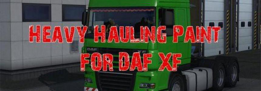 DAF XF 105 Heavy Hauling Skin 1.27.х