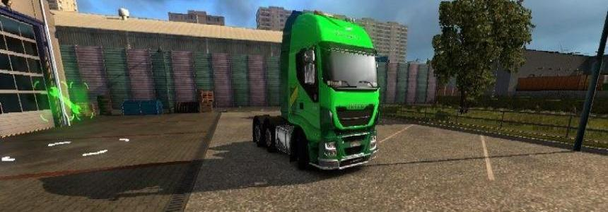Defensa y Justicia Skin for Iveco Hi Way