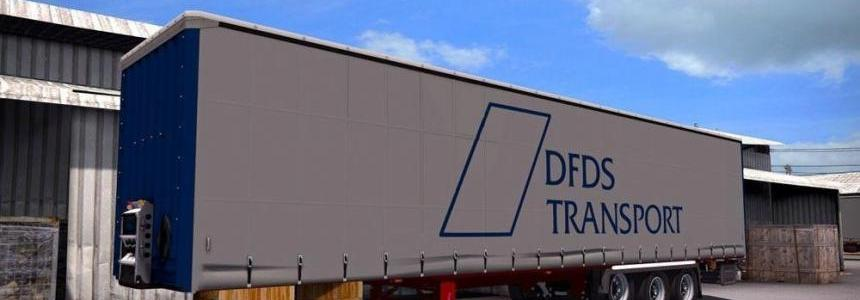 DFDS Transport Trailer Mod