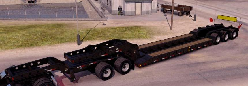 Empty oversized trailer Magnitude 55l for ATS