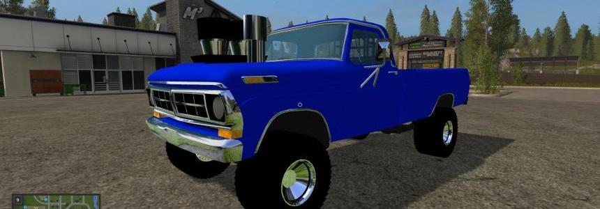 Ford Pulling truck Gas v1.0