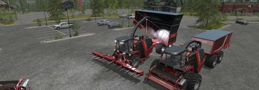 FS17 Krone Big X Cargo v1.0