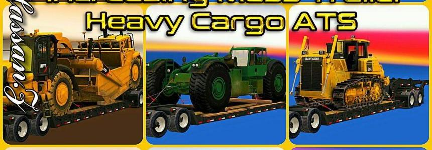 Increasing Mass Trailer Heavy Cargo ATS For Multiplayer v1.0