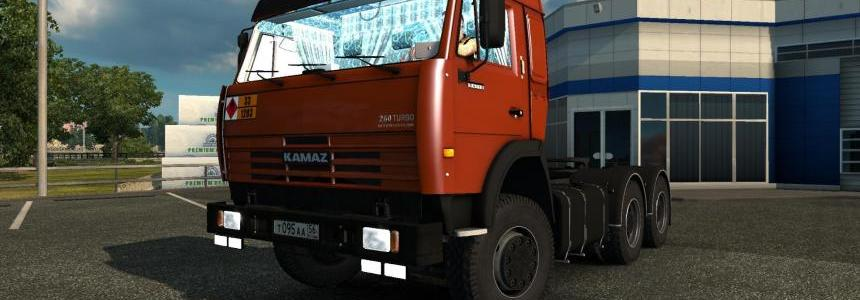 Kamaz 43118-54115 [1.27] FIXED by Kamazist_1980™