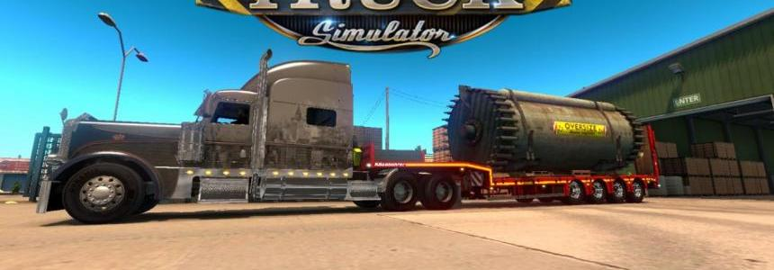 Kassbohrer Heavy Pack v1 for ATS 1.6.x