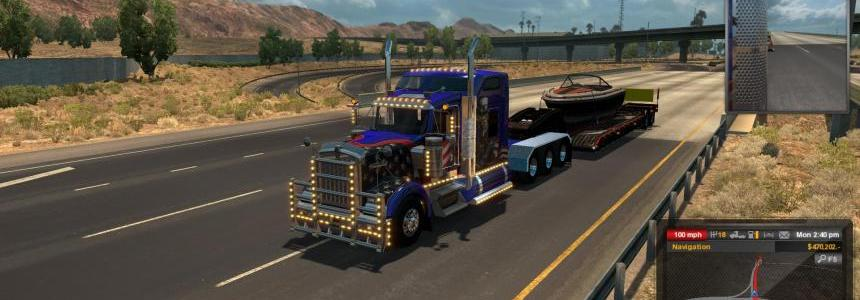 Kenworth W900 Tri-Drive V4 by Bu5ted