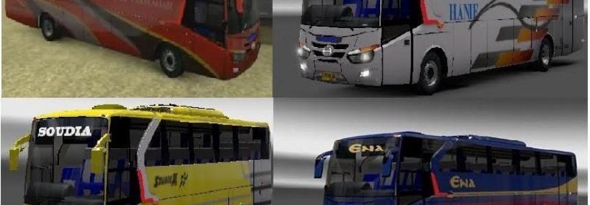 LEGACY Hino AK 1J Bus Mod With 4 BD Bus Skin [1.27.x]