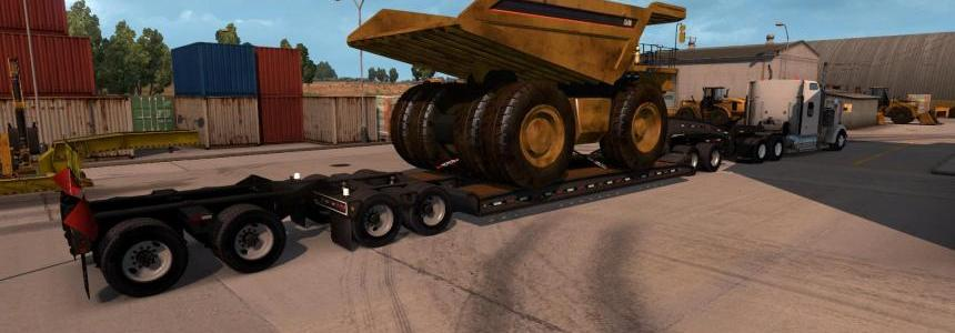 Lowboy Heavy Cargo CAT257M v1.0