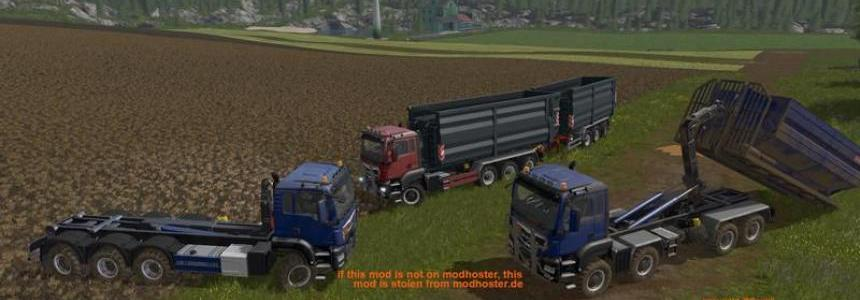 MAN TGS 6x6/8x8 with HVAC v5.3