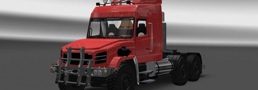 Maz 6440 for Harsh Russian