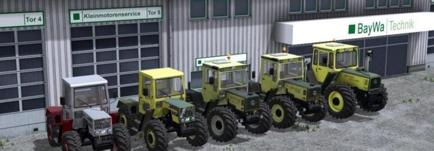 Mercedes Benz TRAC PACK v1.0