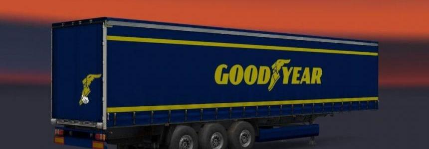 Michelin, Goodyear and Yokohama Trailers Pack