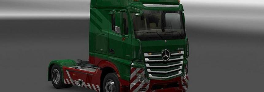 New Actros Plastic Parts and More