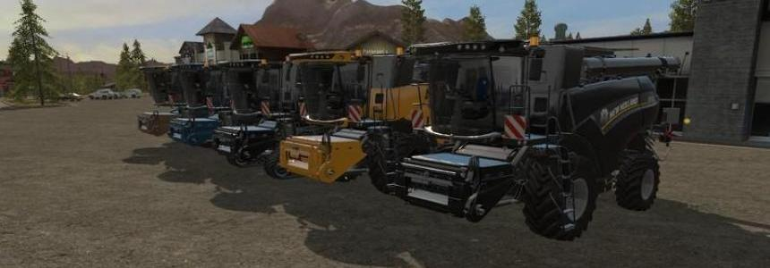New Holland CR10.90 paint and chassis choice v1.2