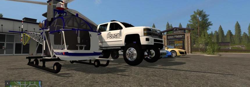 Police pack Farming simulator 17 v1.0