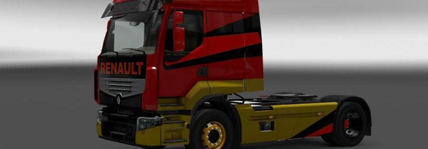 Renault Premium Abstract Skin